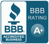 Better Business Bureau - Accredited Business - A+ Rating