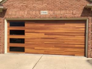 Custom Cedar Door with Sidelights